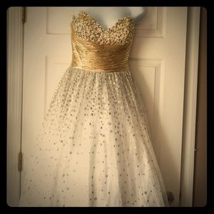 Sequined Tulle Dress by Jovani Prom size 4